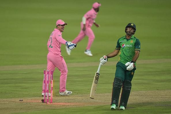 Fakhar Zaman got run out for 193 majestic runs | Getty