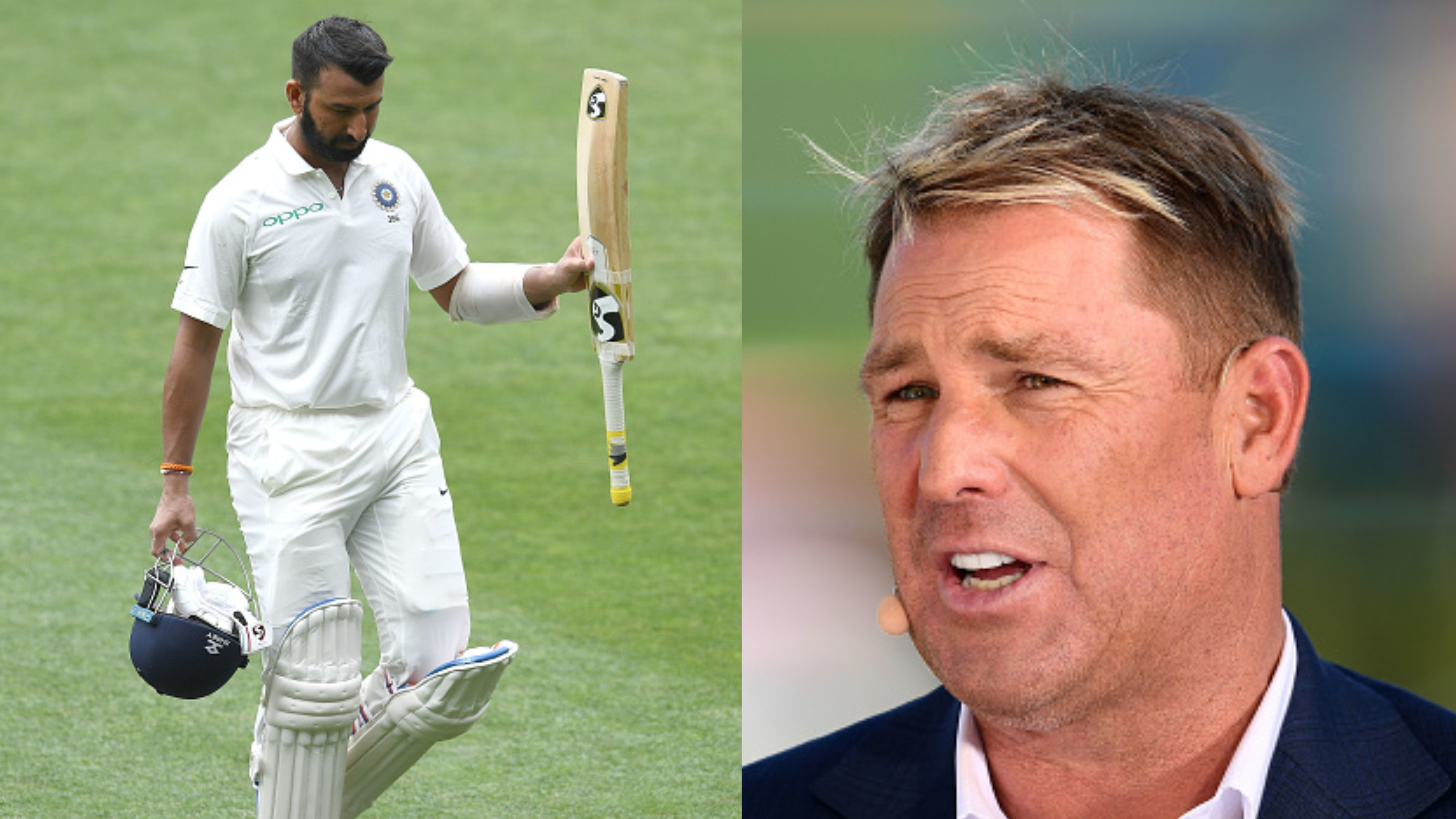 AUS v IND 2018-19: Watch -Shane Warne correctly predicts that Lyon will dismiss Pujara