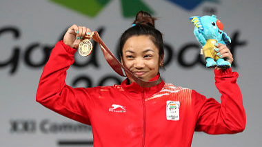 Cricket fraternity reacts to Mirabai Chanu's gold medal at CWG 2018