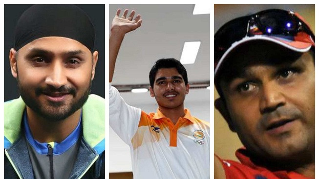 Indian cricket fraternity rejoices the Asian Games 2018 gold medal win of 16-year-old Saurabh Chaudhary