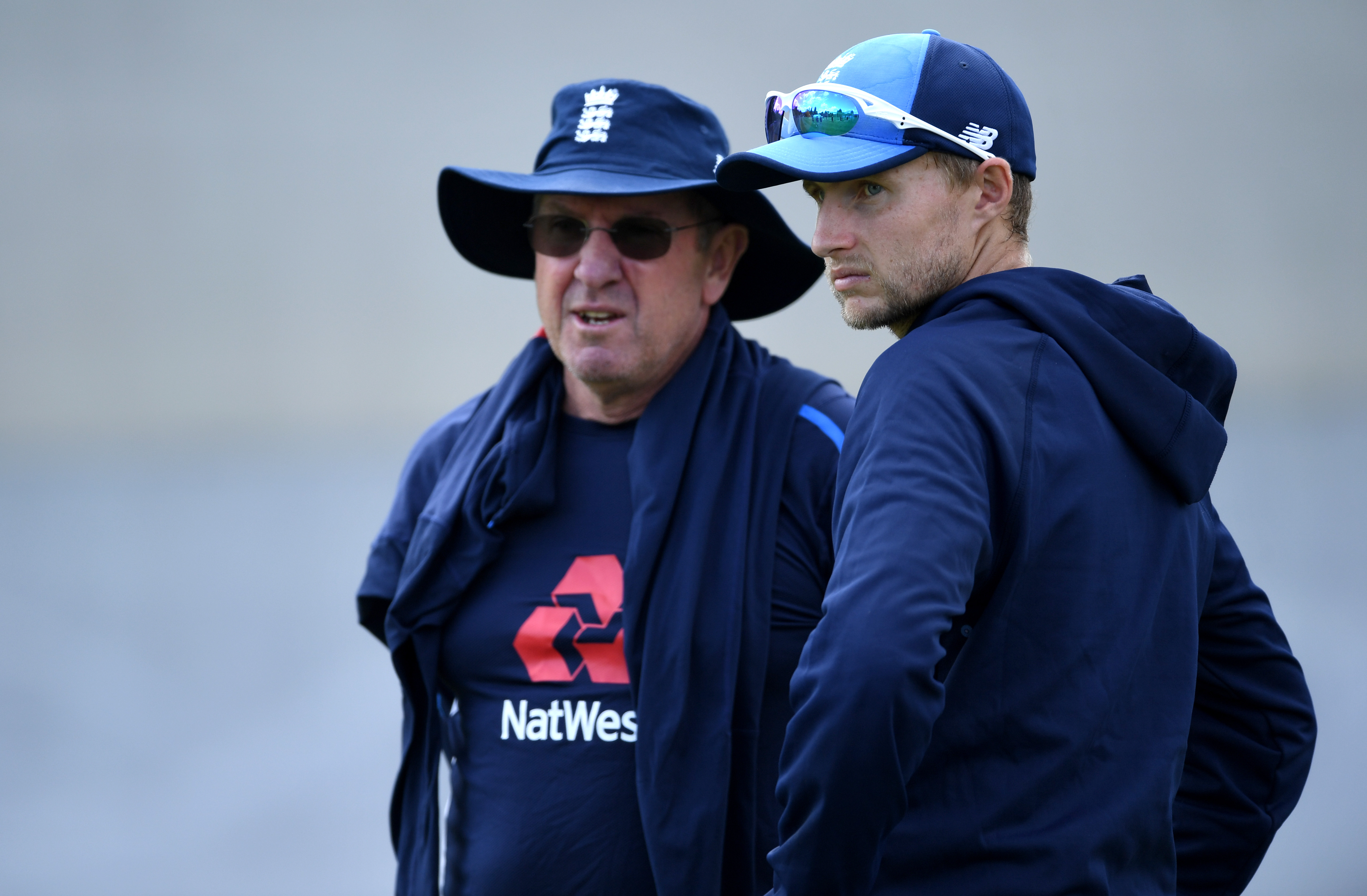 Trevor Bayliss and Joe Root | Getty