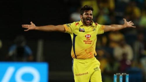 IPL 2018 : स्टीफन फ्लेमिंग के अनुसार शार्दुल ठाकुर असंगत रहे हैं