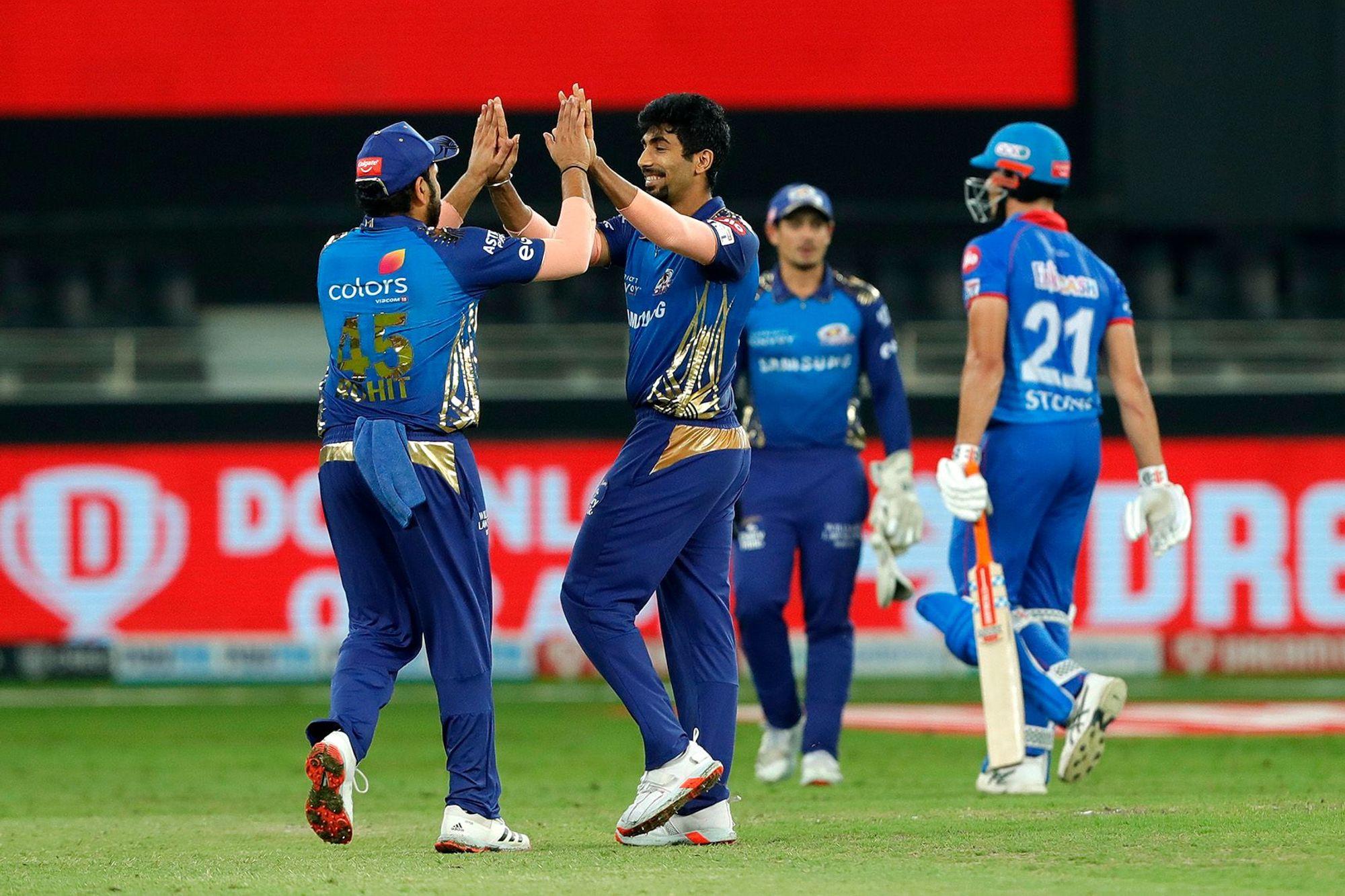 Jasprit Bumrah took 27 wickets in IPL 2020. (Photo - BCCI / IPL)