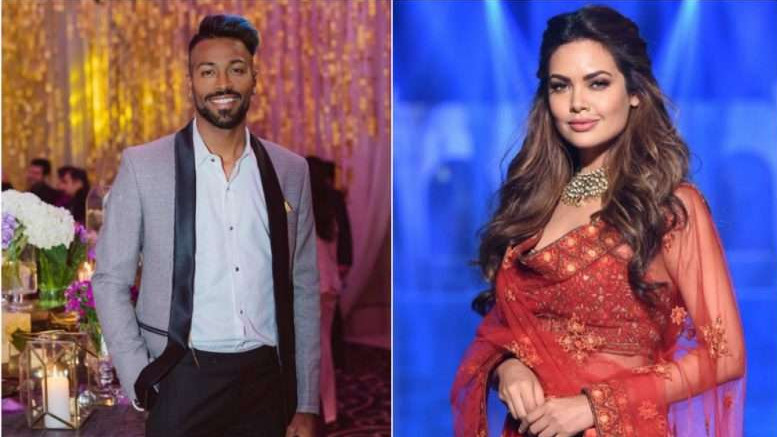 Bollywood actress Esha Gupta angry after being called as Hardik Pandya's friend