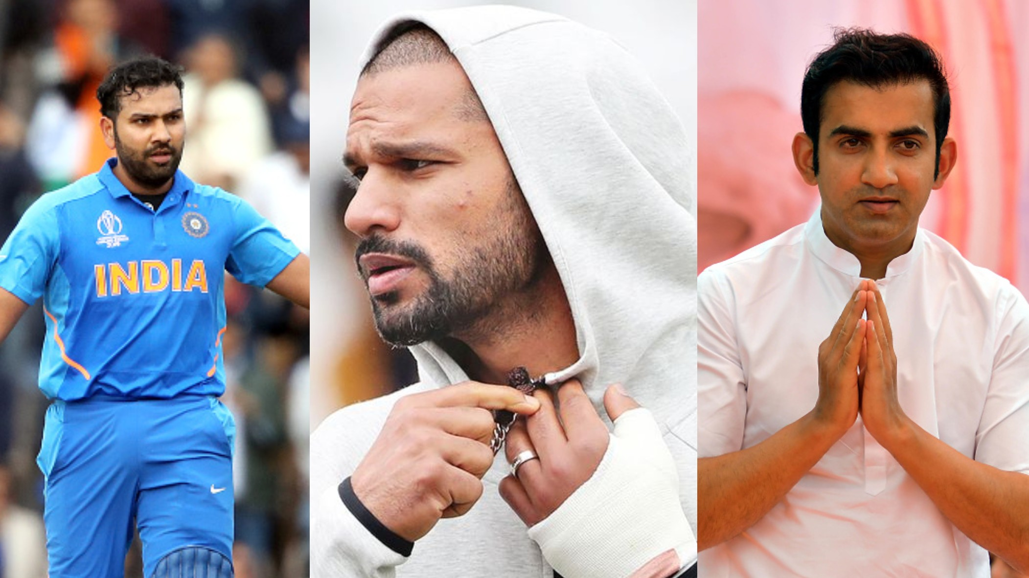 CWC 2019: Indian Cricket fraternity reacts to Shikhar Dhawan being ruled out of World Cup