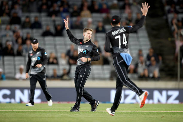 Lockie Ferguson took 5 wickets haul against West Indies in the first T20I (Photo - Getty Images)