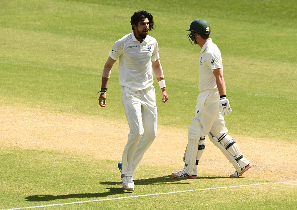 Ishant Sharma took four wickets in Australia's first innings at Perth | Getty