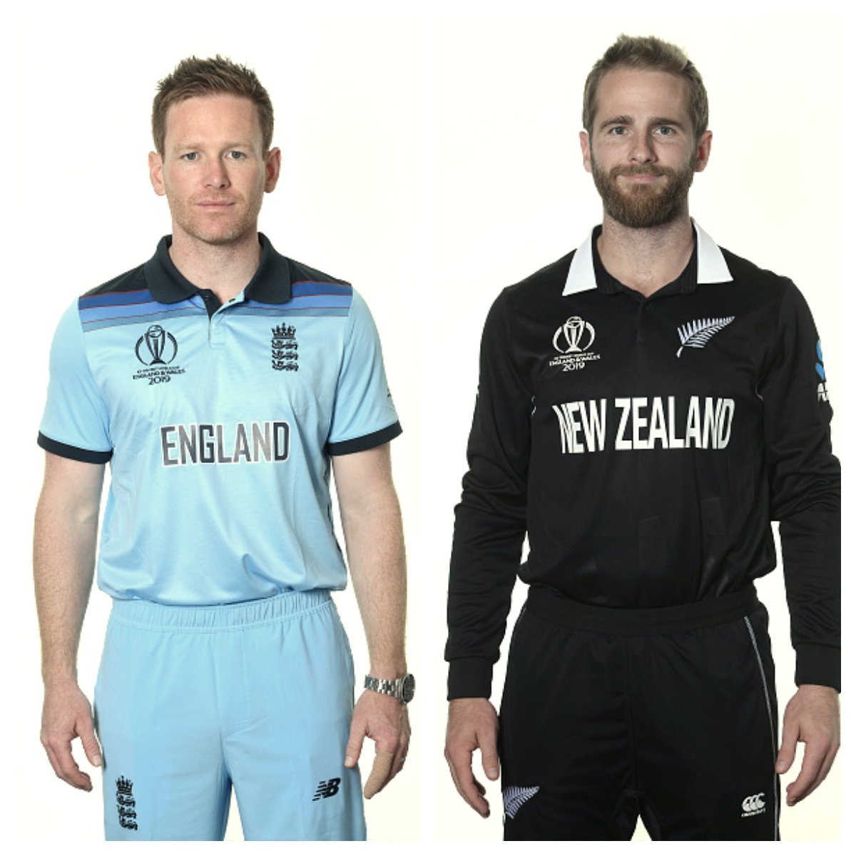 Eoin Morgan and Kane Williamson | Getty