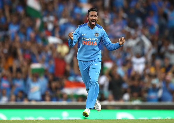 Krunal Pandya picked 4/36 | Getty