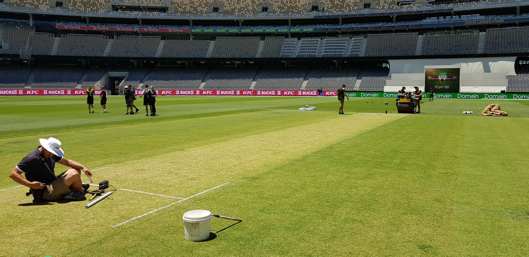 The Optus Perth Stadium saw its first Test match two years ago when India took on Australia