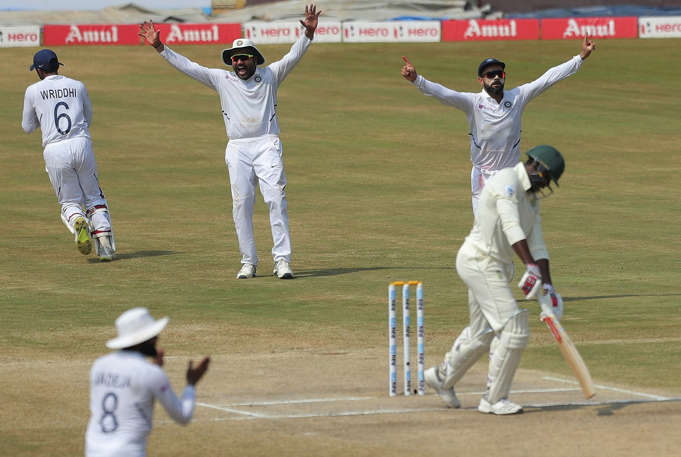 The winning moment for Team India | Associated Press