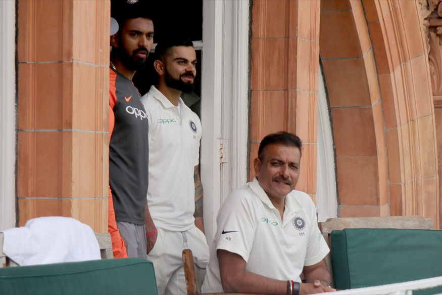 Ravi Shastri was confident of Indian team doing well in England, but his words have come back to bite him | Lord's Twitter
