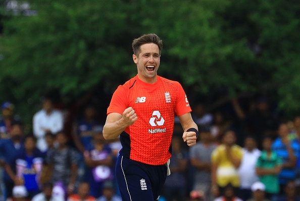 Chris Woakes claimed 3/26 to dent the Sri Lankan top-order | Getty