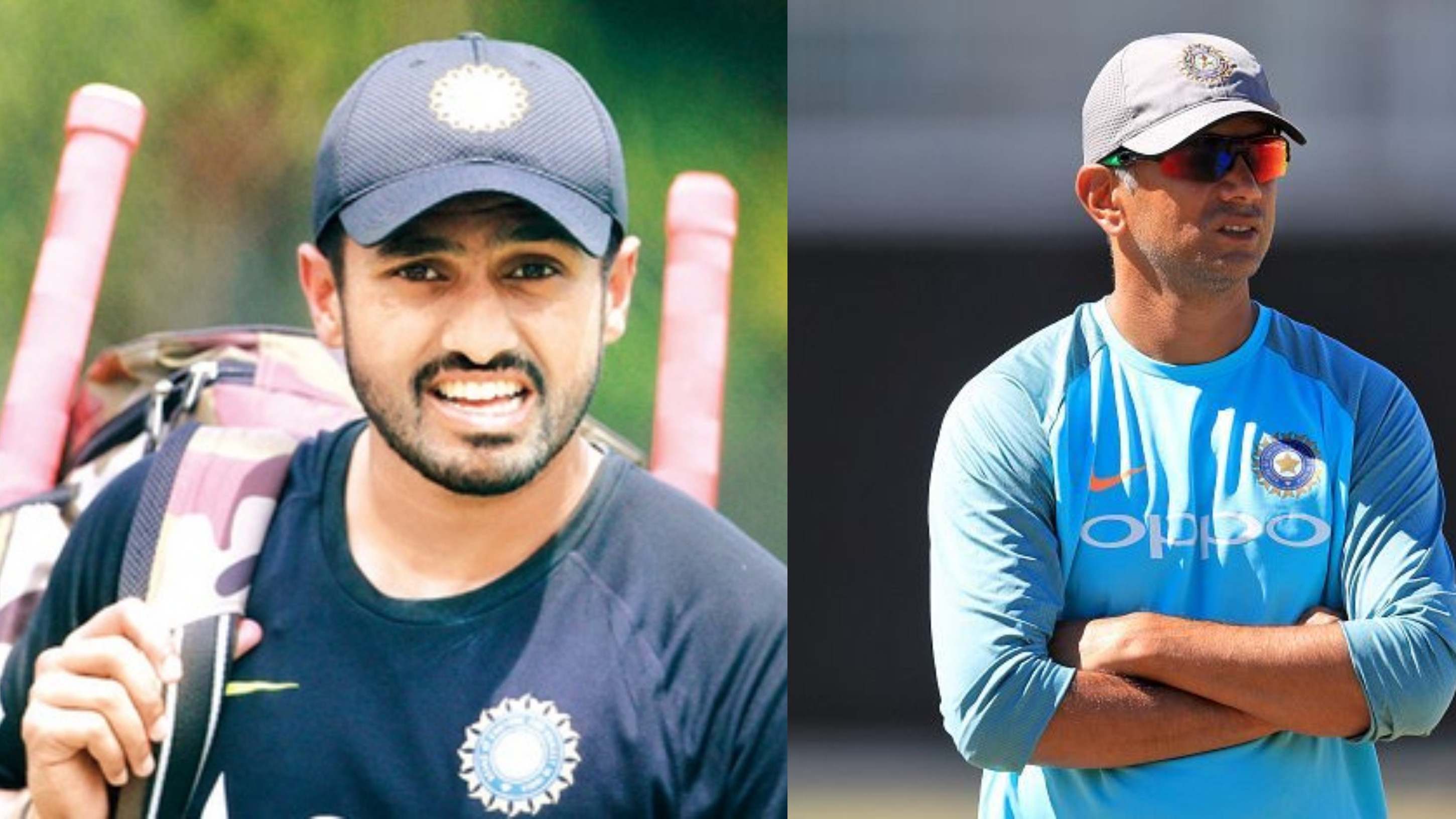 Karun Nair decides to work with Rahul Dravid after Test snub