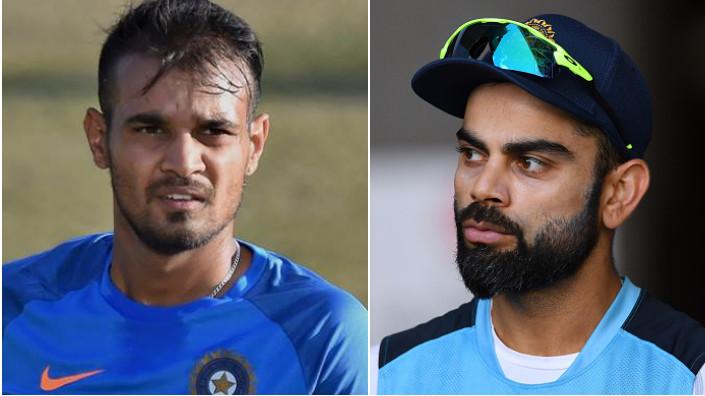 Siddharth Kaul feels he can be Virat Kohli's