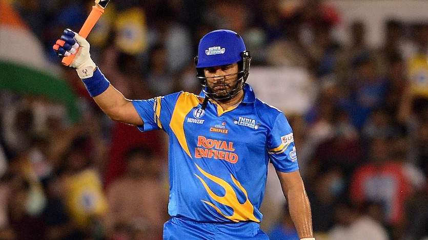 RSWS 2021: Yuvraj Singh reveals why he didn't go for the fifth six after hitting four in a row