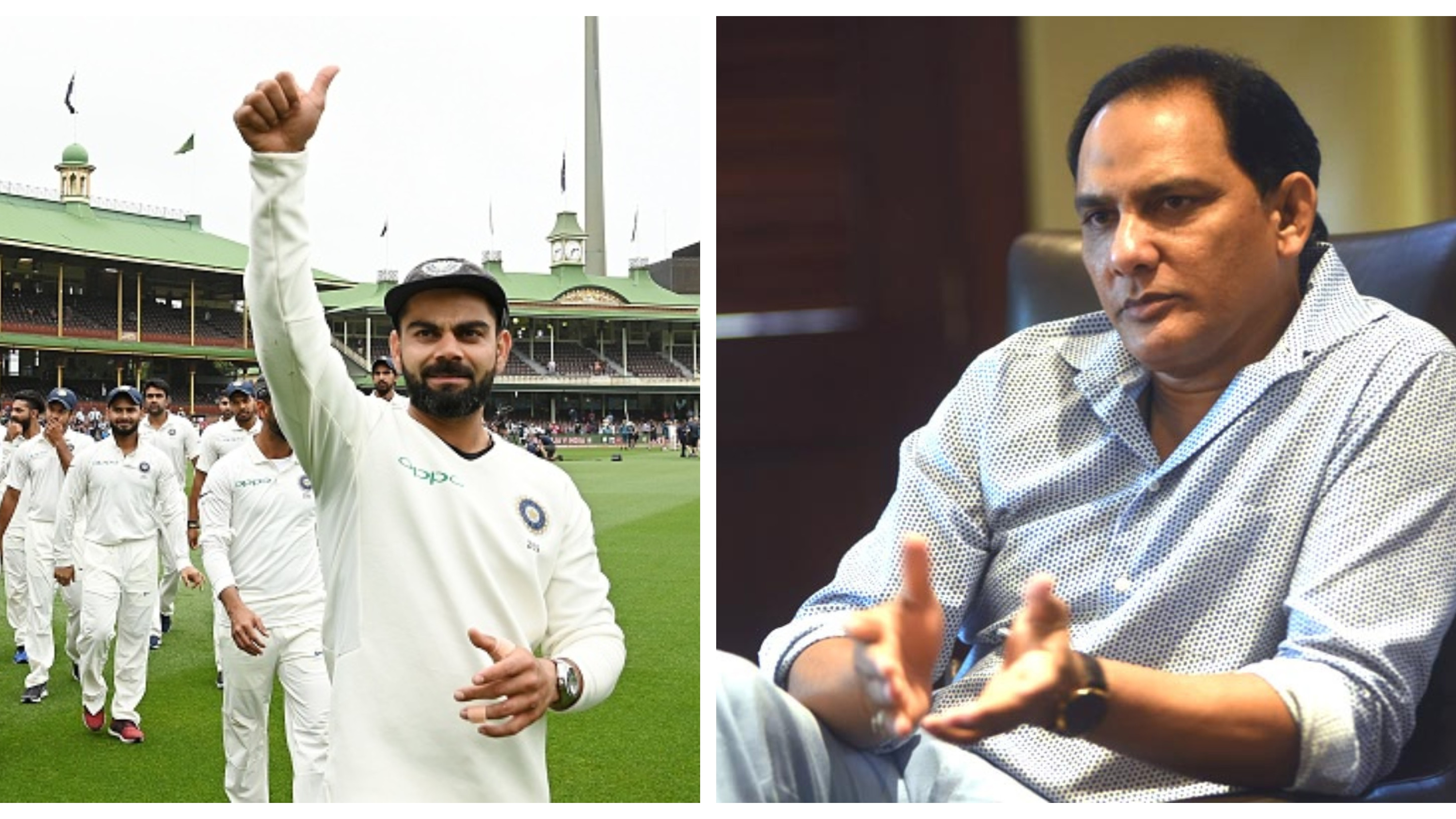 AUS v IND 2018-19: Virat Kohli's men have demoralised Australia with their maiden Test series win, says Azharuddin