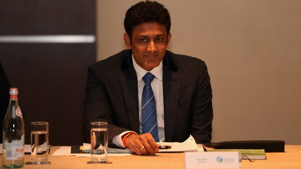 Anil Kumble donates funds in the fight against COVID-19 pandemic