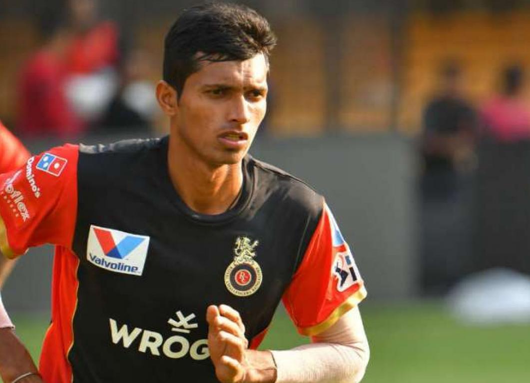 Navdeep Saini will be seen playing for RCB under Virat Kohli   AFP