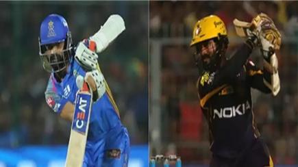 IPL 2018: KKRvRR- आज जीत का सिलसिला बरकरार रखने उतरेंगी दोनों टीमें