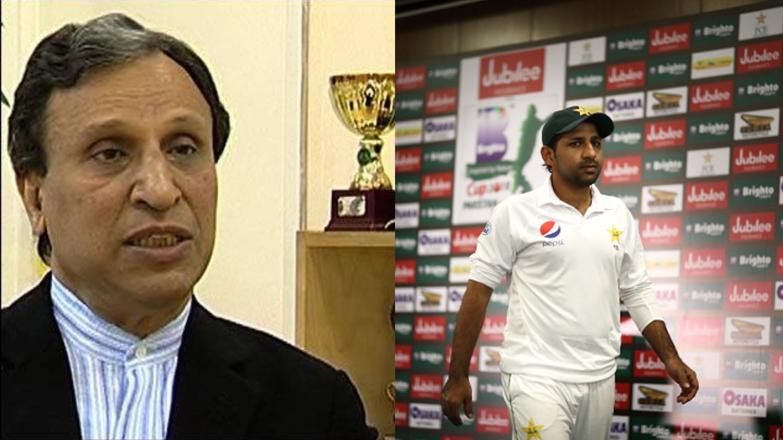 असिफ इकबाल ने कहा सरफराज अहमद को टेस्ट कप्तानी से मुक्त किया जाये