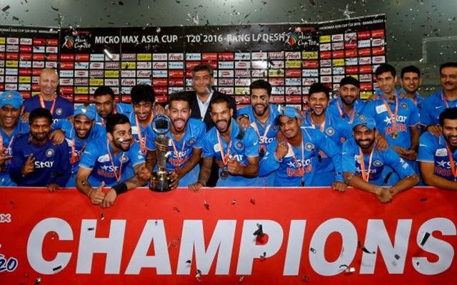 India won the Asia Cup T20 in 2016. (Twitter)