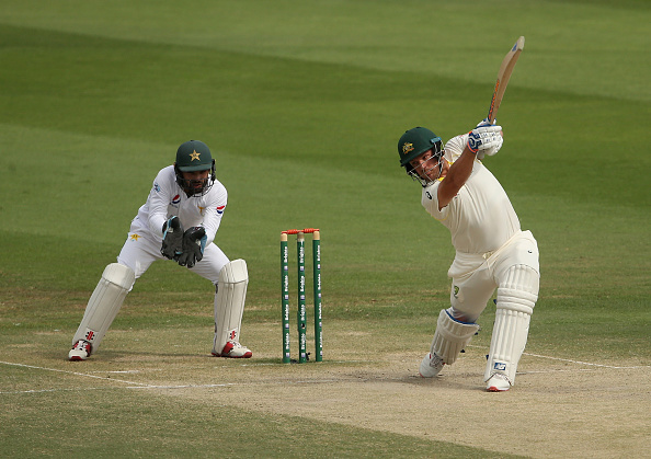 Aaron Finch made Test debut against Pakistan | Getty Images