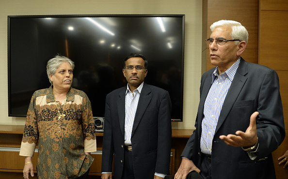 Diana Edulji (left) confirmed that the BCCI is working on the matter of Day/Night Tests | Getty
