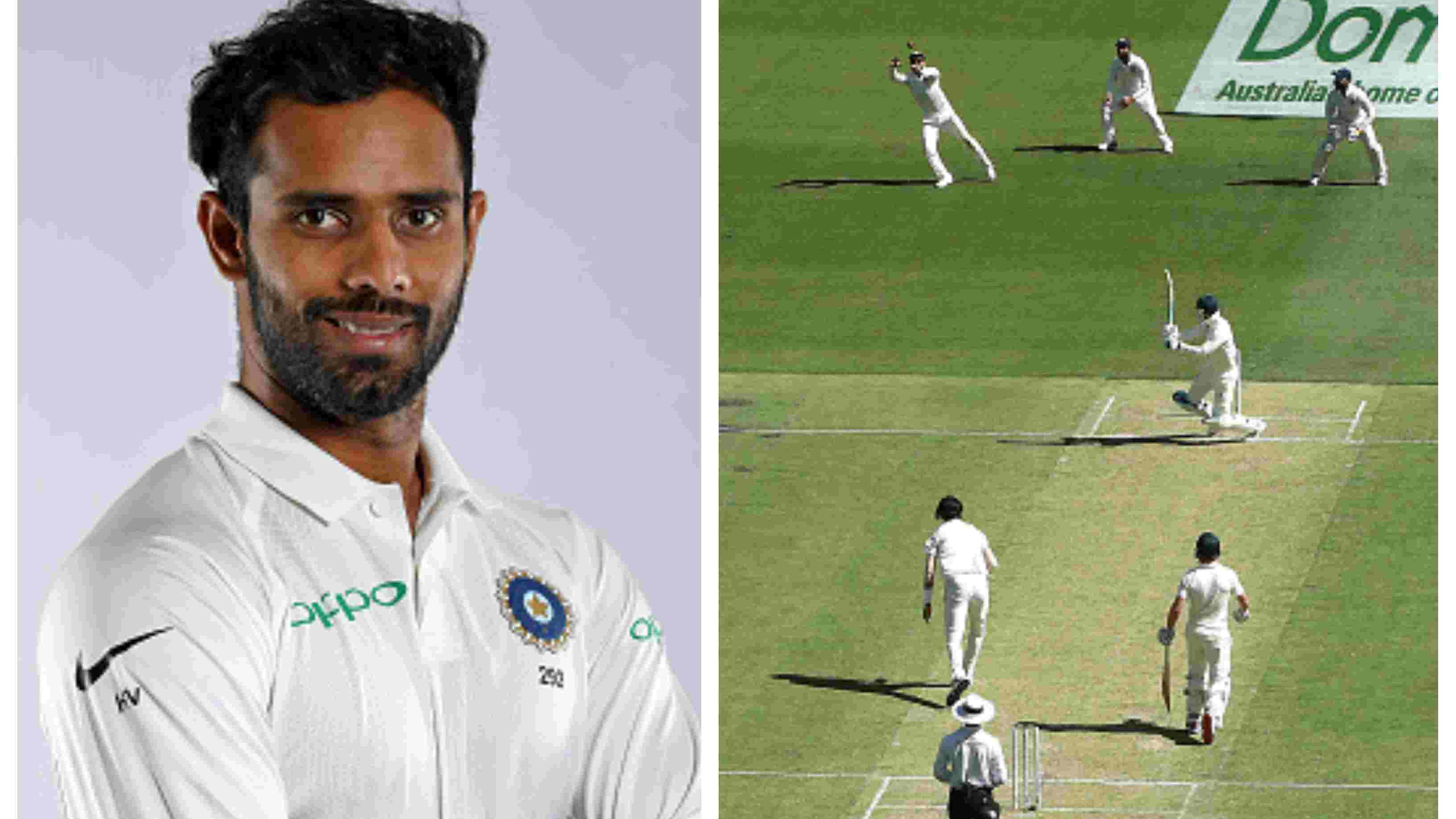AUS v IND 2018-19: Hanuma Vihari hails Virat Kohli's one-handed screamer to dismiss Peter Handscomb