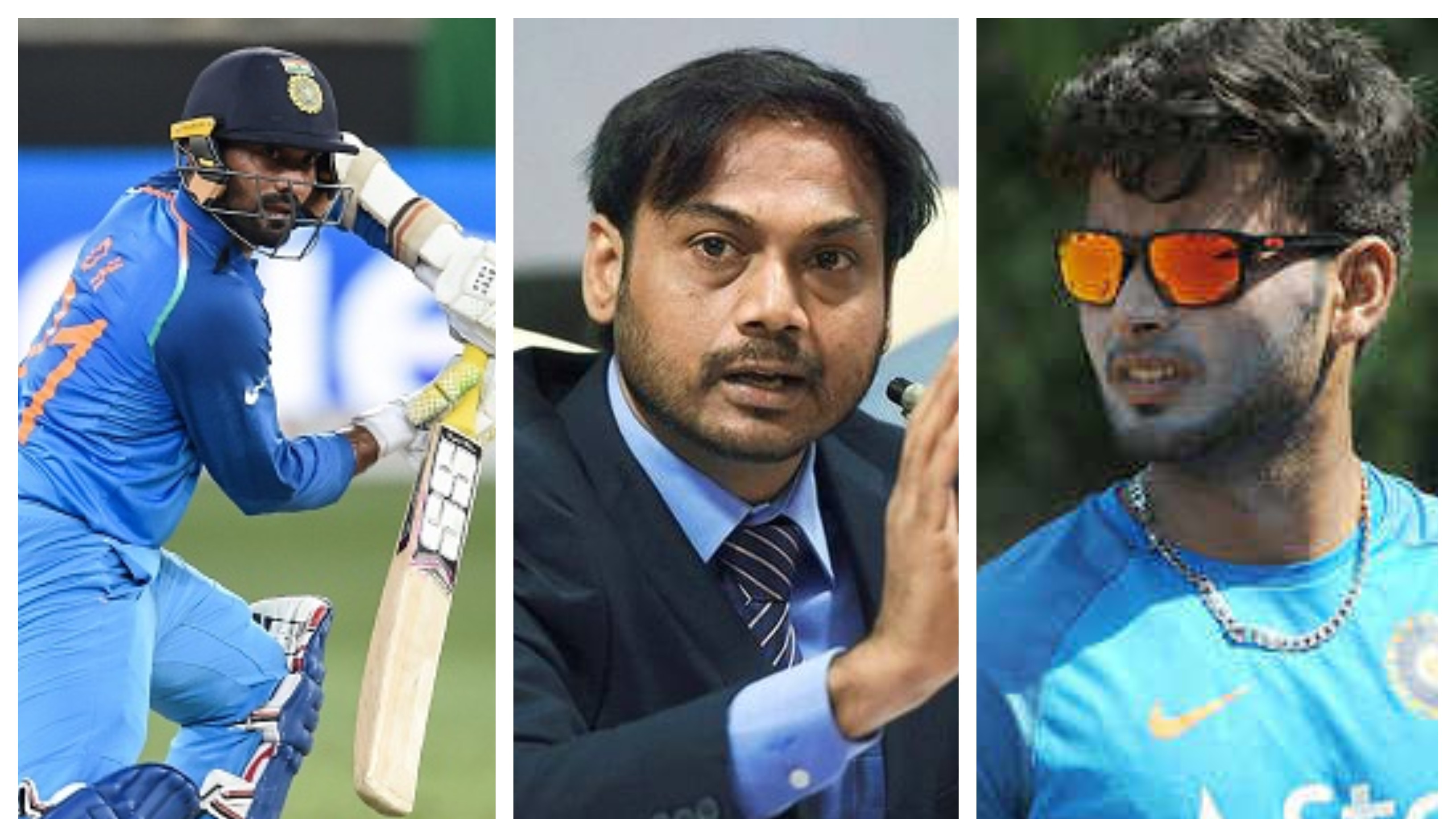 MSK Prasad gives his opinion on Rishabh Pant versus Dinesh Karthik debate