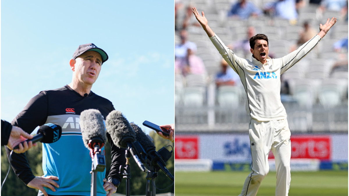 ENG v NZ 2021: Playing Mitchell Santner was the right decision, says NZ coach Gary Stead