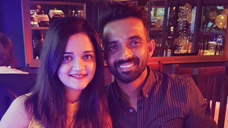 Wife Radhika's heartfelt birthday message for husband Ajinkya Rahane