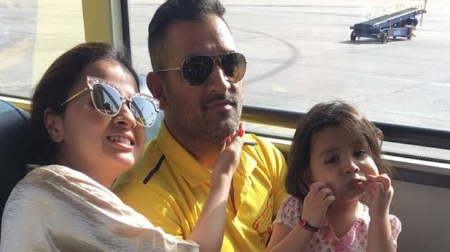 Chennai Super Kings calls Sakshi Dhoni