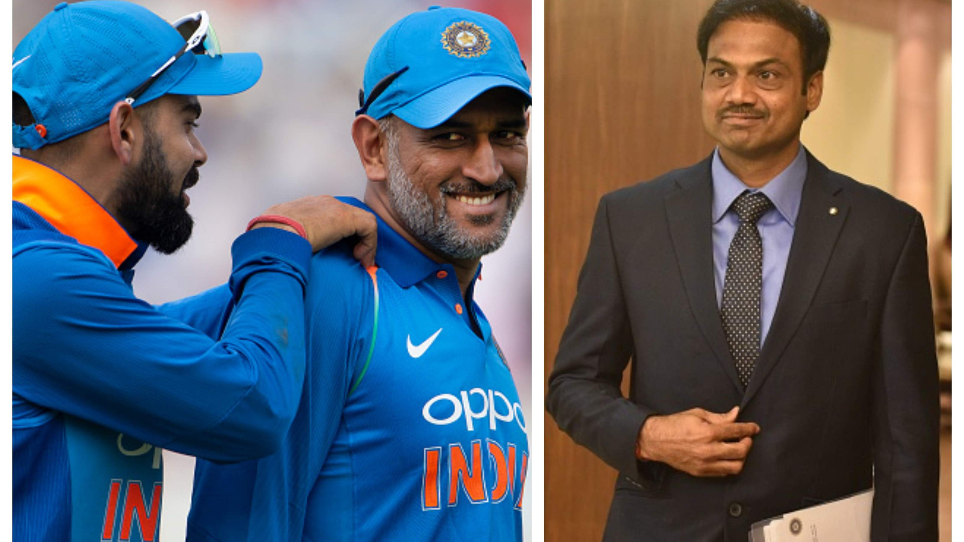 """My relationship with MS Dhoni and Virat Kohli is intact"", says chief selector MSK Prasad"