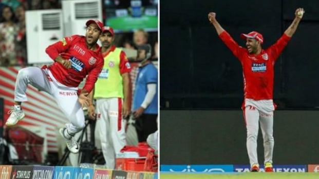 IPL 2018: WATCH- मयंक और मनोज ने मिलकर लिया आईपीएल का सबसे हैरतअंगेज कैच