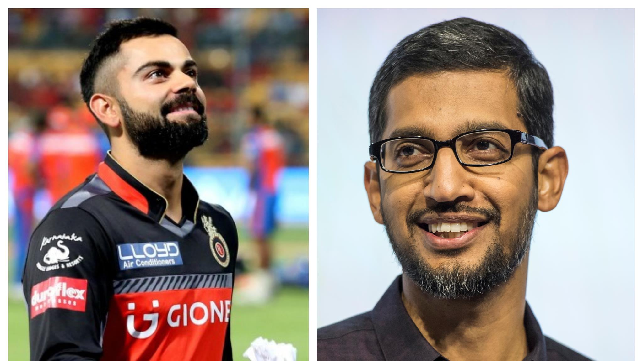 IPL 2018: Virat Kohli thanks Google CEO Sundar Pichai after receiving the ultimate praise from him