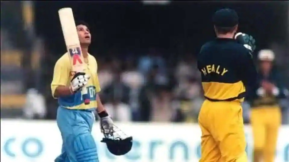 On This Day: WATCH- Sachin Tendulkar scores his maiden ODI century, in 1994 against Australia