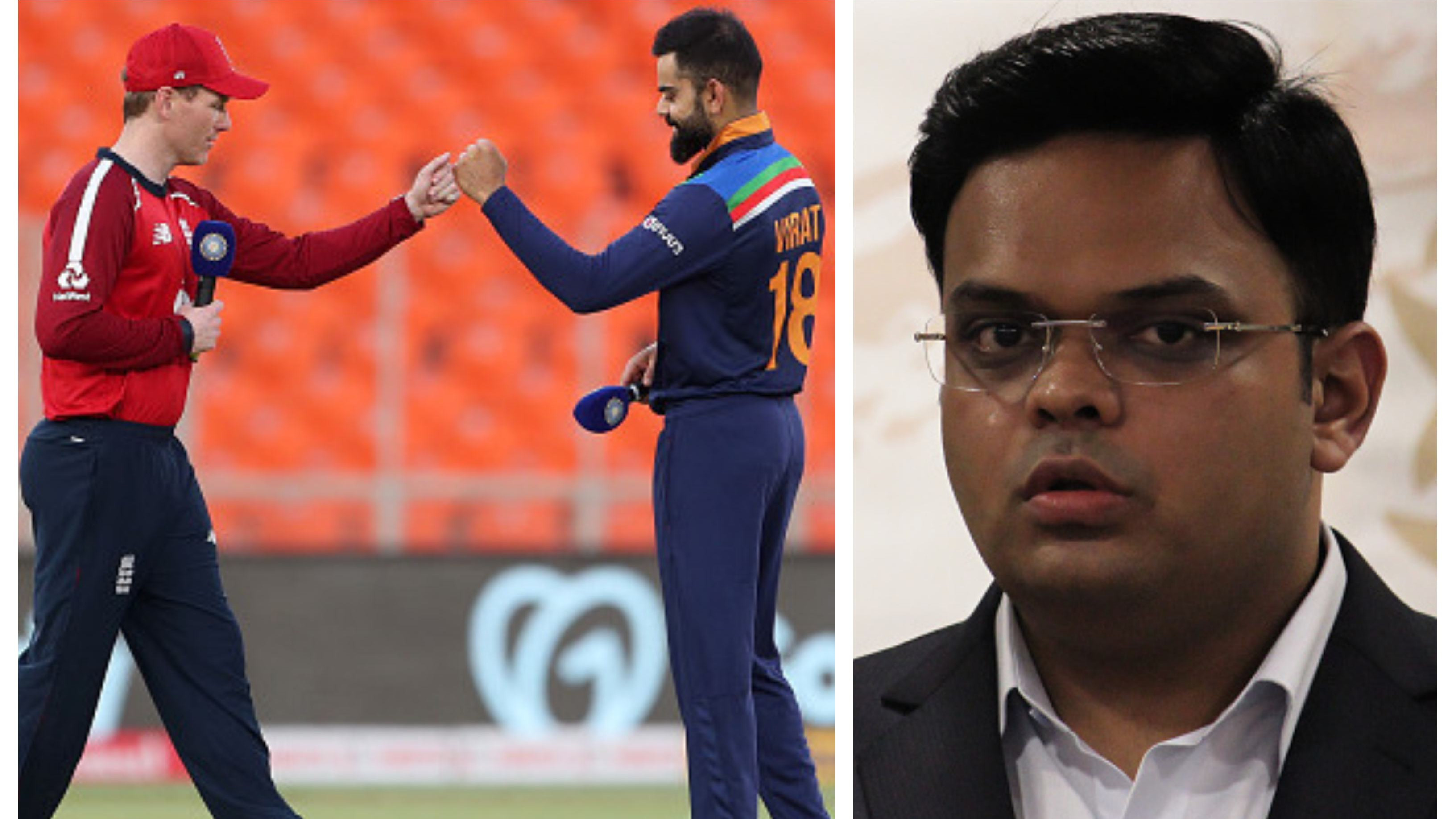 ENG v IND 2021: 'We have offered to play two extra T20Is in England next July', confirms Jay Shah
