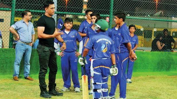 एमएस धोनी क्रिकेट अकादमी के लिए युवा खिलाड़ियों का किया गया चयन