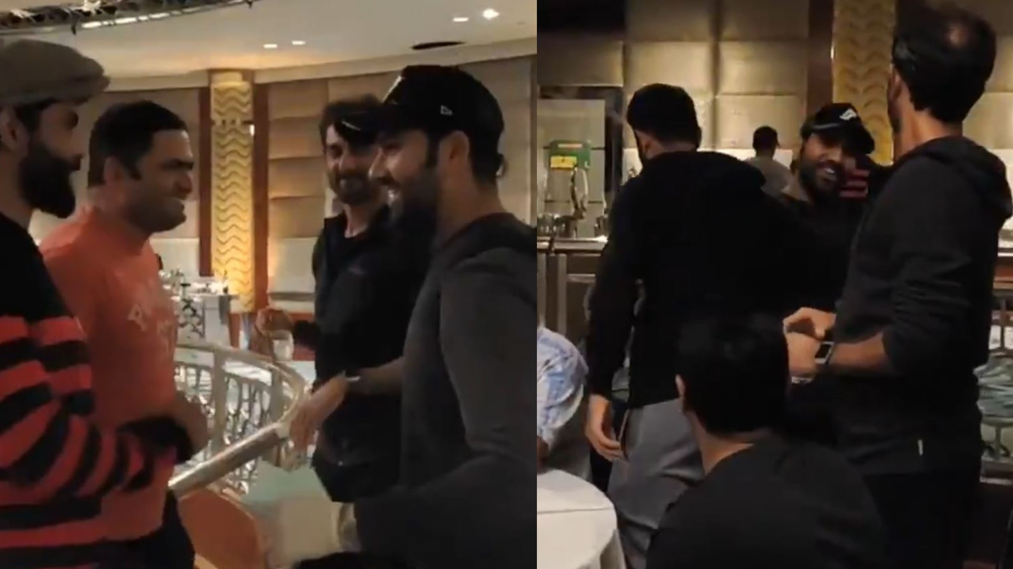 AUS v IND 2020-21: WATCH- Rohit Sharma welcomed by his India teammates in Melbourne