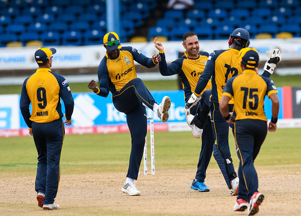 St Lucia Zouks came out victorious by six wickets   Getty
