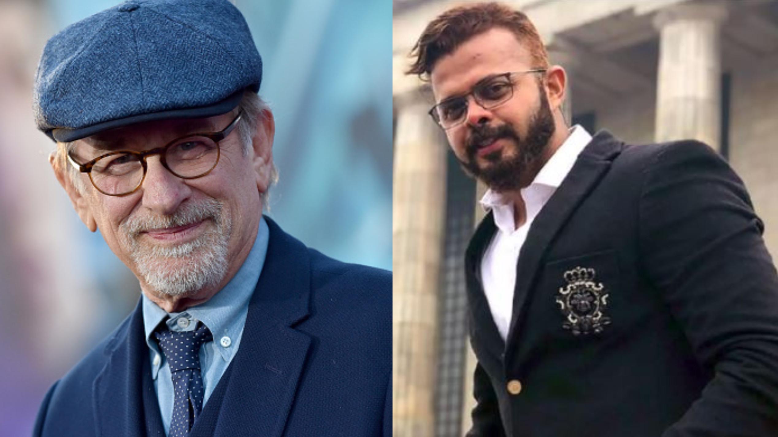 श्रीसंत ने हॉलीवुड के फिल्मकार स्टीवन स्पीलबर्ग के साथ हॉलीवुड फिल्म करने की जताई अपनी इच्छा