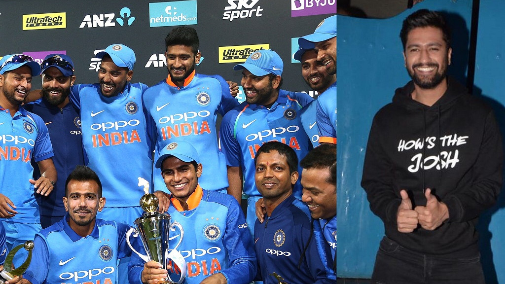NZ v IND 2019: Watch - Team India chants 'Hows the Josh' while celebrating series win
