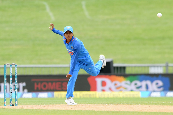 Ekta Bisht was the best bowler along with Poonam Yadav, picking three wickets | Getty