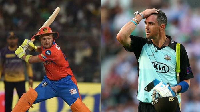Kevin Pietersen and Brendon McCullum engage in a funny banter