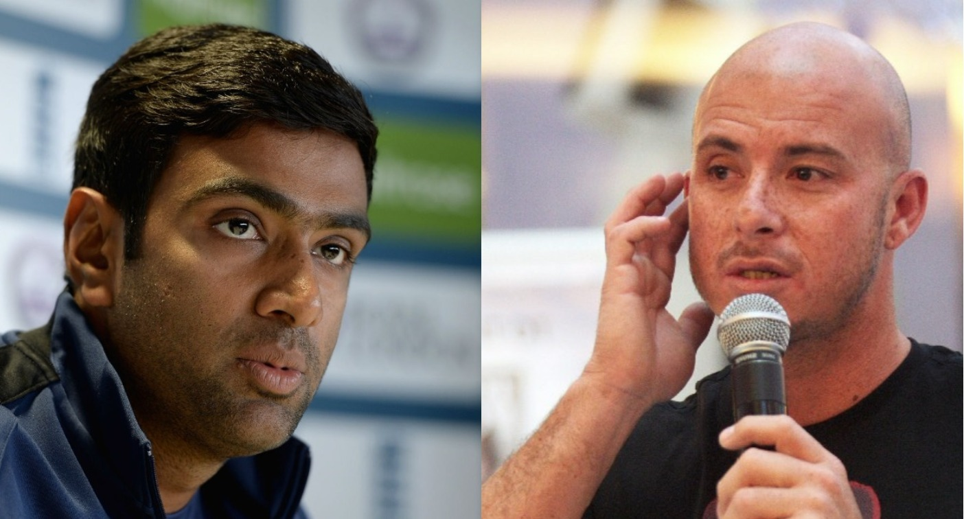 R Ashwin once again pokes fun at Herschelle Gibbs on Twitter