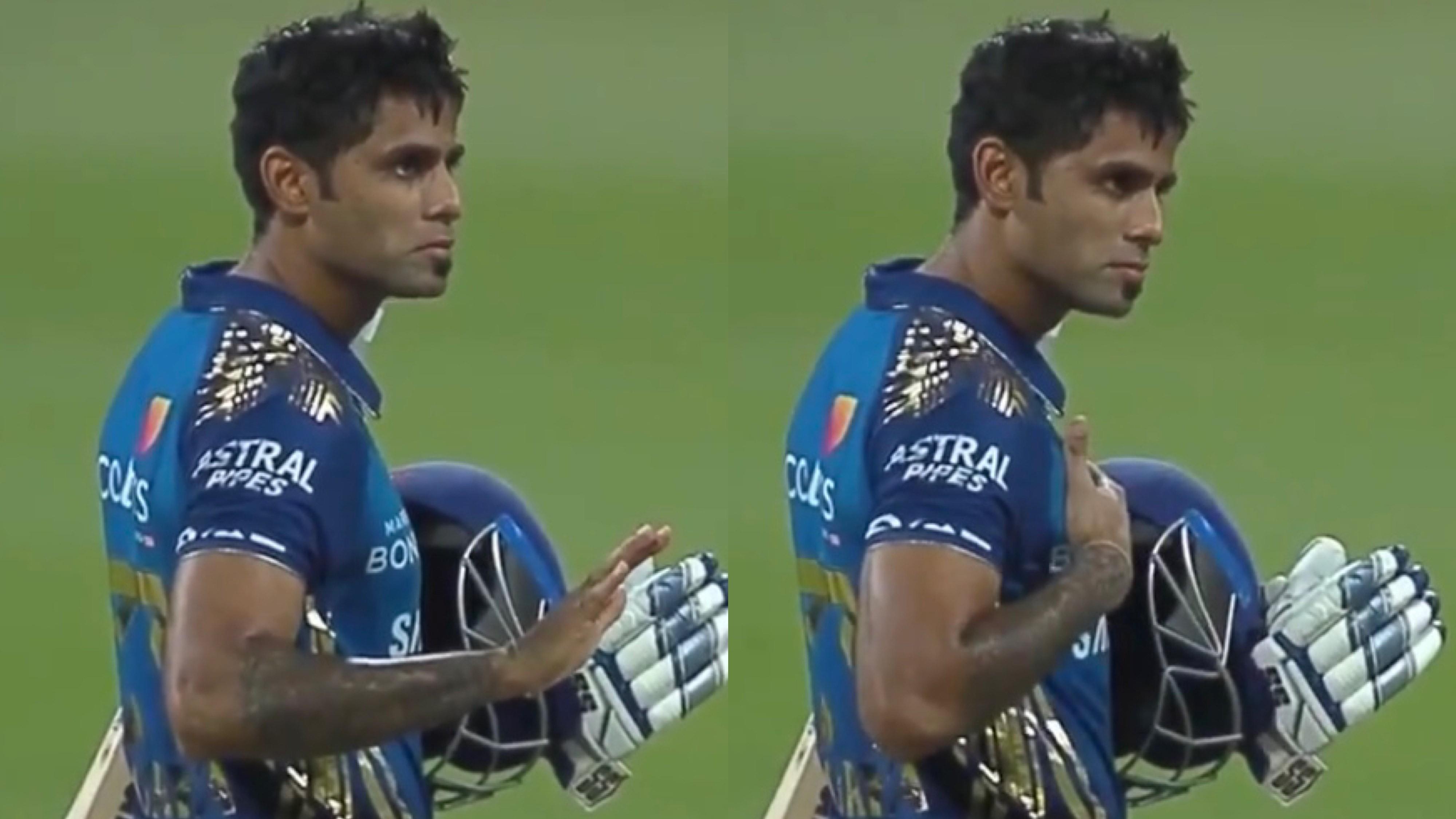 IPL 2020: WATCH - Surya Kumar Yadav's 'Main Hoon Naa' gesture post winning the game for MI