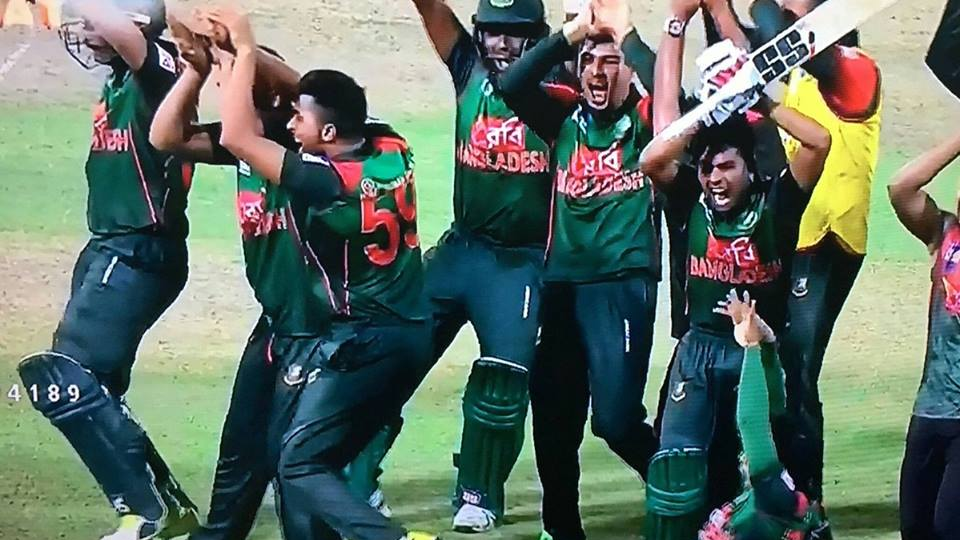 Nidahas Tri-Series 2018: Bangladesh celebrates their ticket to final with 'naagin dance'