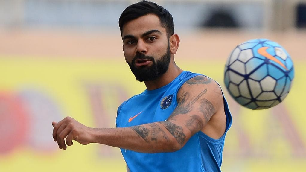 Virat Kohli urges budding athletes to personalise their diet