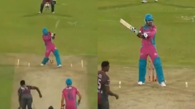 WATCH: Rashid Khan plays MS Dhoni's trademark Helicopter shot in Mzansi Super League